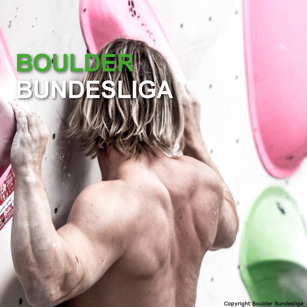 Klettern in der Boulder Bundesliga