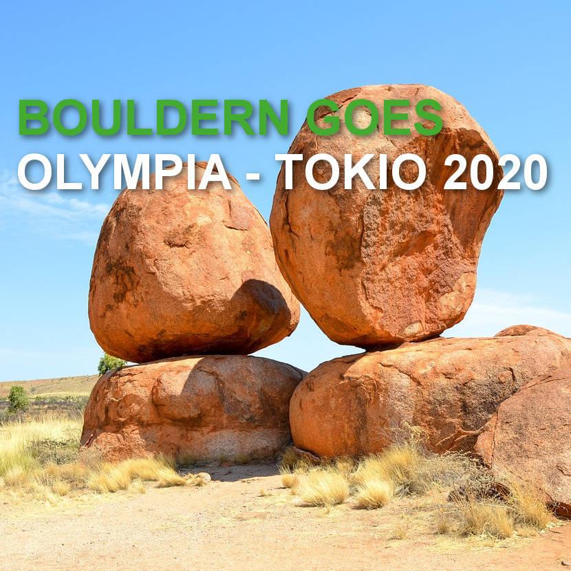 Bouldern goes Olympia – Tokio 2020