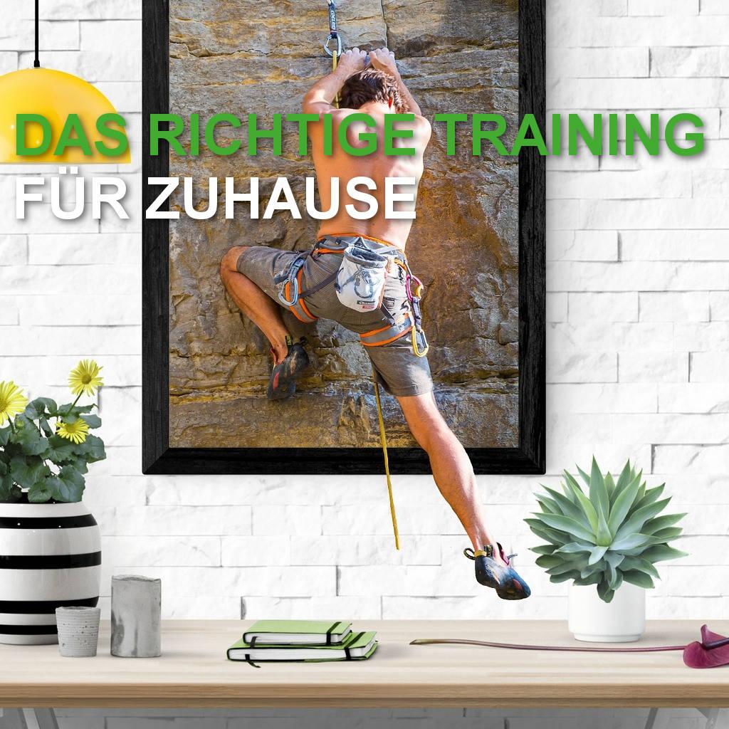 Training zuhause – Fingerkraft, Rumpf und Körperspannung